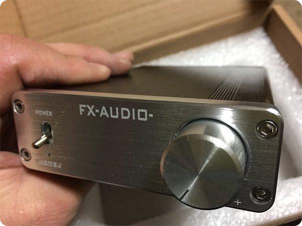 デジタルアンプFX-AUDIO FX202J